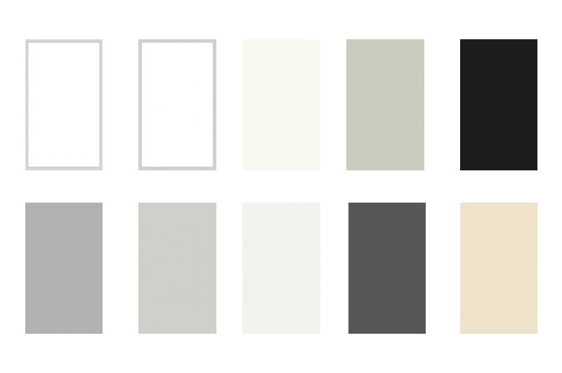 Fugenfarben definieren den Raum